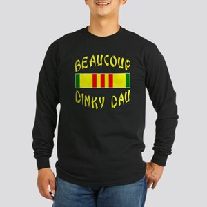 Beaucoup Dinky Dau Long Sleeve Dark T-Shirt