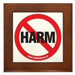 Do No Harm Framed Tile