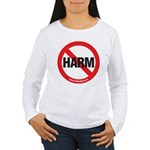 Do No Harm Women's Long Sleeve T-Shirt