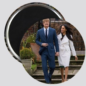 Prince Harry and Meghan Markle Royal Weddi Magnets