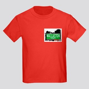 WALLASTON STREET, BROOKLYN, NYC Kids Dark T-Shirt