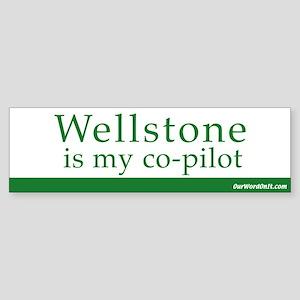 Wellstone copilot Bumper Sticker
