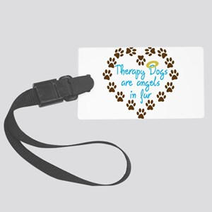 Therapy Dogs Luggage Tag