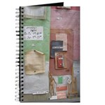 Art Supply Shop Window Journal