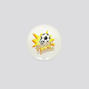 Soccer Family Mini Button