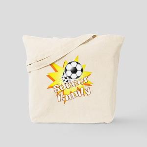 Soccer Family Tote Bag