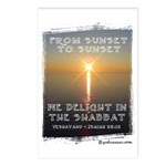 We Delight In The Shabbat Postcards (Package of 8)
