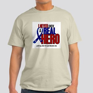 Never Knew A Hero 2 Military (Son-In-Law) Light T-