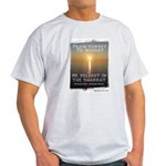 We Delight In The Shabbat Ash Grey T-Shirt