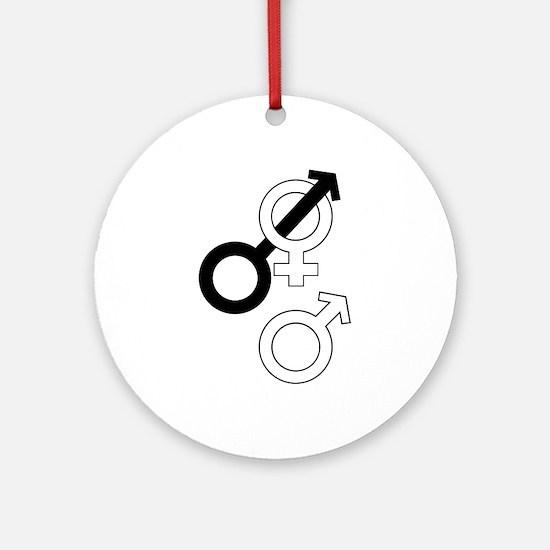 Cuckold Sex Symbols Ornament (Round)