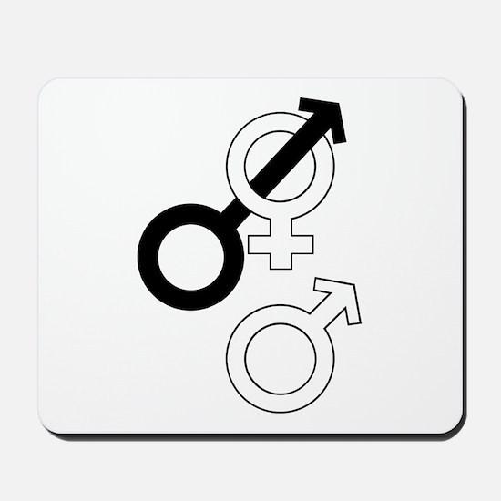 Cuckold Sex Symbols Mousepad