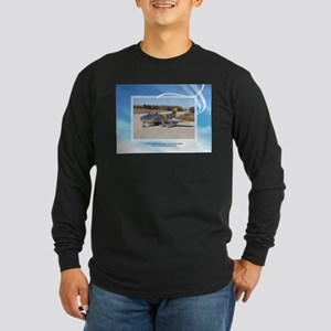 F-86F HAYMAKER SABRE Long Sleeve Dark T-Shirt