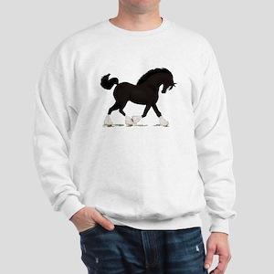 Black Shire with Blaze Sweatshirt