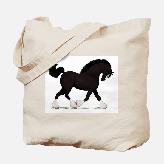 Black Shire with Blaze Tote Bag