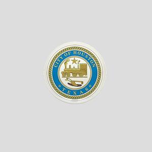 HOUSTON-CITY-SEAL Mini Button