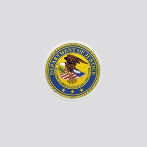 DEPARTMENT-OF-JUSTICE-SEAL Mini Button