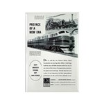 Electro-Motive Diesel 1948 Rectangle Magnet (100 p