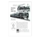 Electro-Motive Diesel 1948 Postcards (Package of 8