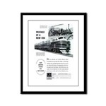 Electro-Motive Diesel 1948 Framed Panel Print