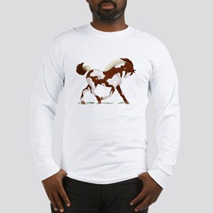 Chestnut Overo Horse Long Sleeve T-Shirt