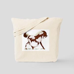 Chestnut Overo Horse Tote Bag