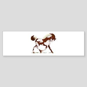 Chestnut Overo Horse Bumper Sticker