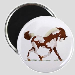 Chestnut Overo Horse Magnet