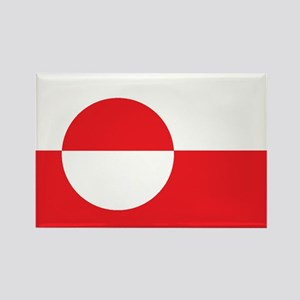 GREENLAND Rectangle Magnet