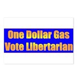1 Dollar Gas Postcards (Package of 8)