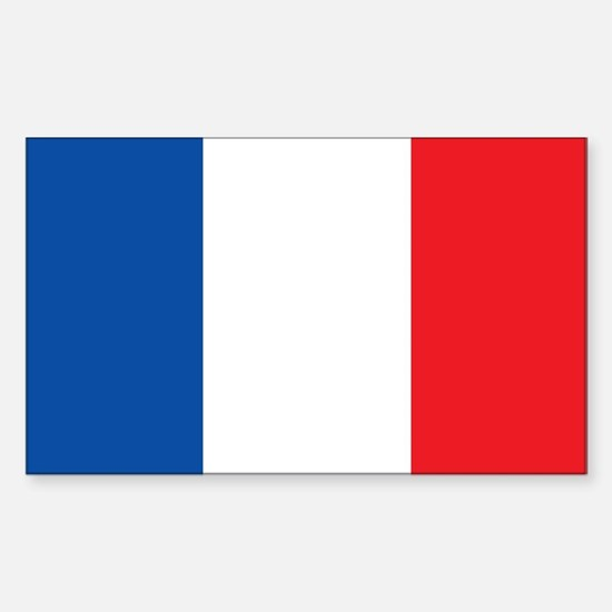 FRANCE Rectangle Decal