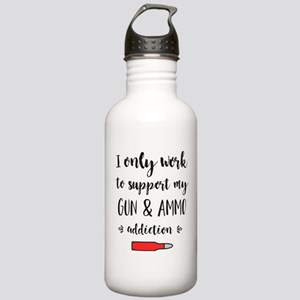 I only work to support Stainless Water Bottle 1.0L