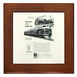 Electro-Motive Diesel 1948 Framed Tile
