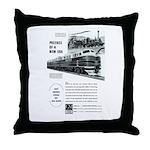 Electro-Motive Diesel 1948 Throw Pillow