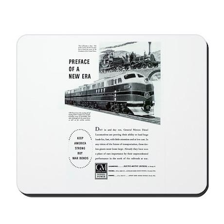 Electro-Motive Diesel 1948 Mousepad by stans_railpix