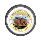 Department of the interior Wall Clocks