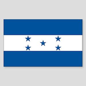 HONDURAS Rectangle Sticker