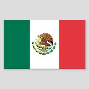 MEXICO Rectangle Sticker