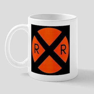 RR Crossing Sign Mug