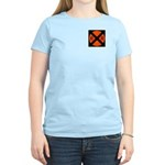 RR Crossing Sign Women's Pink T-Shirt