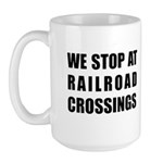 Railroad Crossing - Large Mug