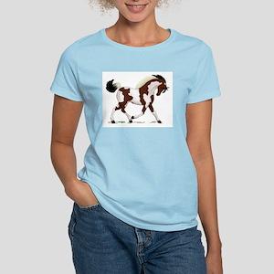 Bay Tobiano Pinto Horse Women's Light T-Shirt