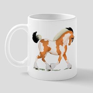 Buckskin Tobiano Gypsy Horse Mug