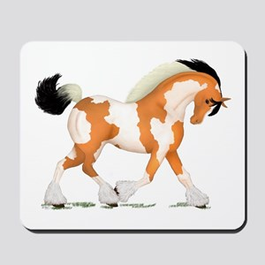 Buckskin Tobiano Gypsy Horse Mousepad