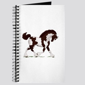 Brown Tobiano Gypsy Horse Journal