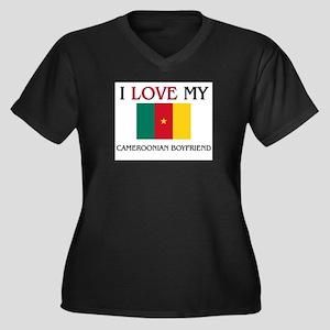 I Love My Cameroonian Boyfriend Women's Plus Size