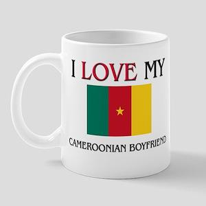 I Love My Cameroonian Boyfriend Mug