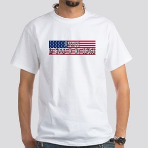 Funny Good W Trust Pro Bush White T-Shirt