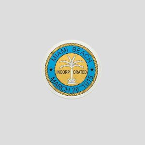 MIAMI-BEACH Mini Button