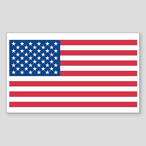 USA Rectangle Sticker