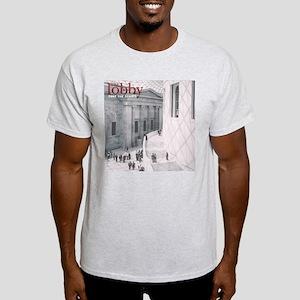 """Take The Stairs"" Lobby Shirt -- Grey"